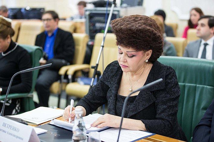 Заседание Совета по вопросам жилищного строительства и содействия развитию ЖКХ Петренко