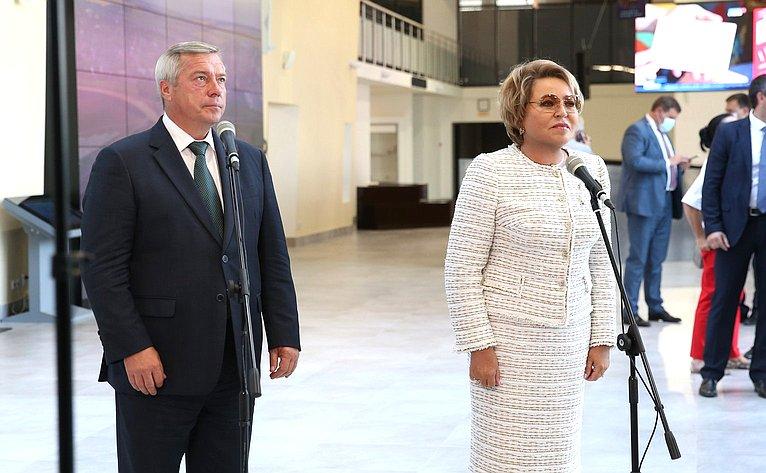 В. Матвиенко иВ. Голубев