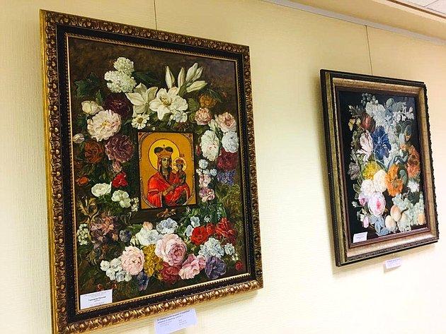 ВСовете Федерации открылась выставка живописи Н. Тернаковой