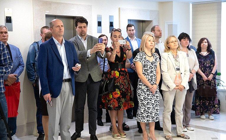 Художественная выставка «Под небом Бизерты» вСовете Федерации