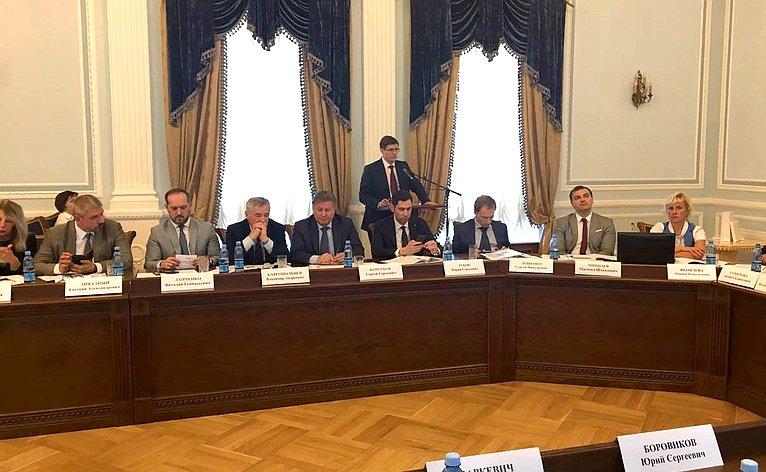 ВВеликом Новгороде состоялось выездное заседание Совета поинтеллектуальной собственности при Совете Федерации