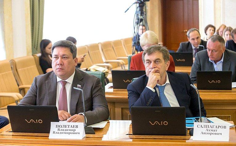 Владимир Полетаев иАхмат Салпагаров
