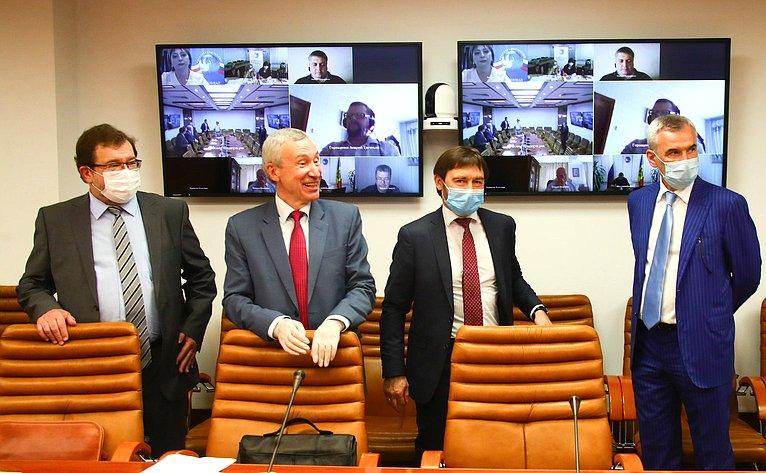 Видеоконференция А. Климова ссоотечественниками, проживающими зарубежом