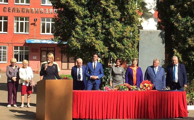 Наталия Косихина посетила Ярославскую государственную сельскохозяйственную академию