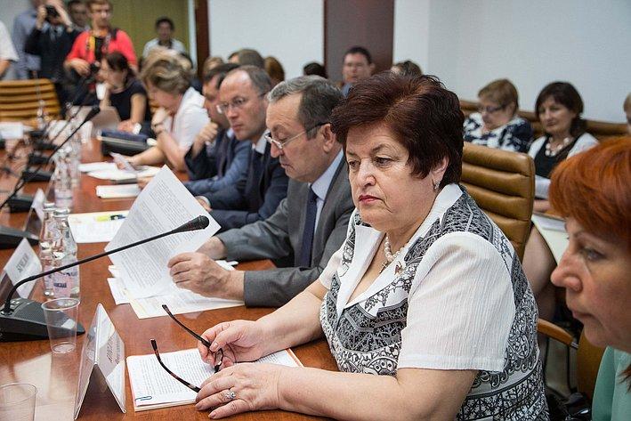 26-05 Л. Козлова Заседание Комитета СФ по социальной политике 4