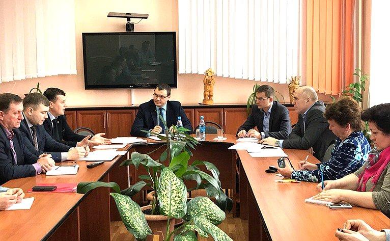 Дмитрий Шатохин посетил Усть-Куломский район Республики Коми