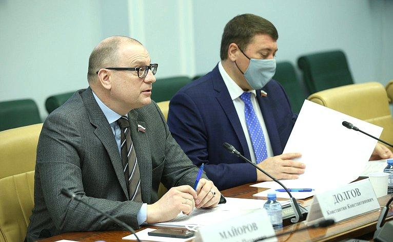 Константин Долгов иИван Абрамов