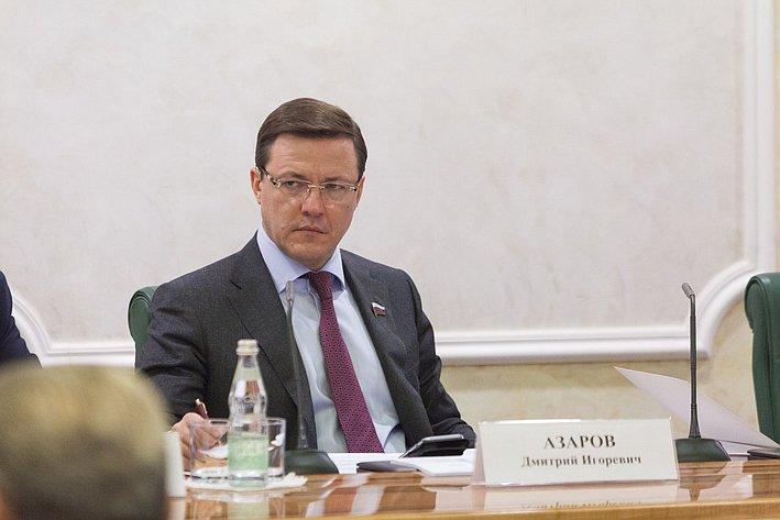 Заседание Совета при Председателе СФ по вопросам жилищного строительства и содействия развитию ЖКХ Азаров