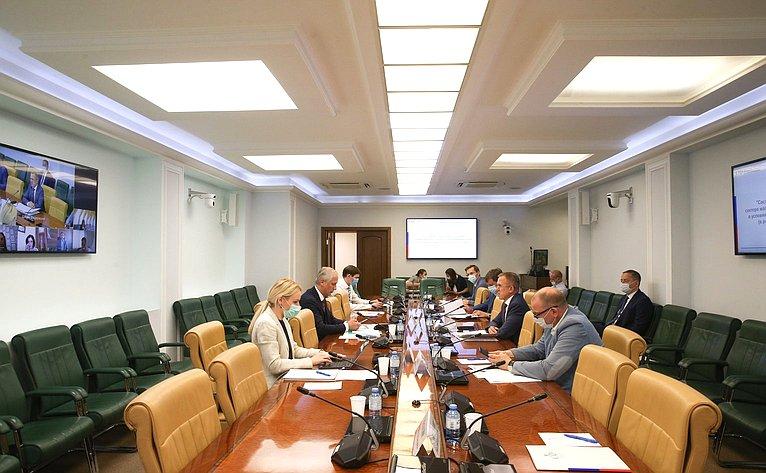 «Круглый стол» натему «Состояние иперспективы развития сектора малого исреднего предпринимательства вусловиях текущей экономической ситуации» вформате видеоконференции