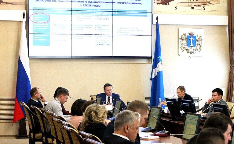Сергей Рябухин вУльяновск принял участие вработе XIX сессии Совета региональных, местных властей исообществ