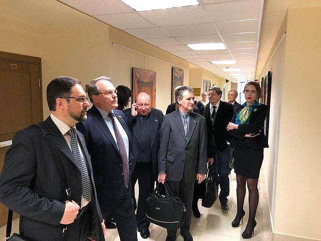 ВСовете Федерации состоялось открытие выставки «Думы оРоссии»