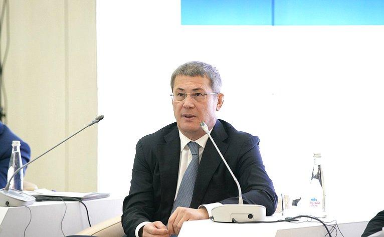 Глава Республики Башкортостан Радий Хабиров