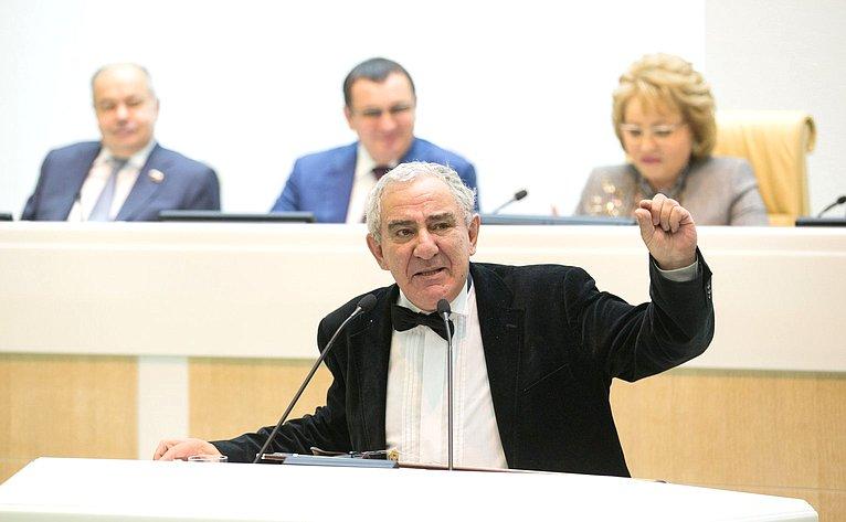 Картинки по запросу михаил казиник в совете федерации фото