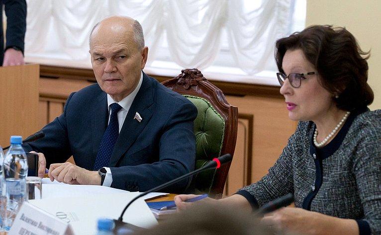 Михаил Щетинин иВалентина Переверзева