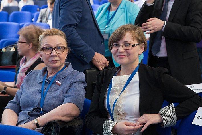 Открытие Форума социальных инноваций в Омске Косткина Бокова