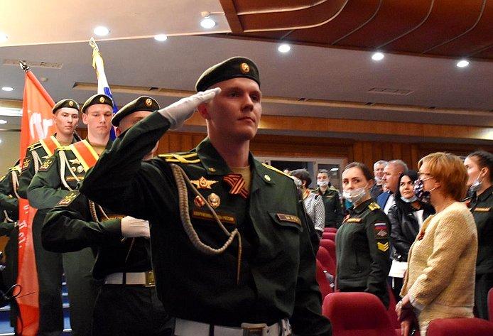 ВКостроме состоялись торжественное собрание иконцерт, посвященные Дню Победы