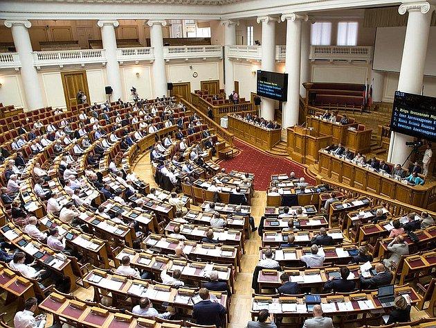 Выездное заседание Совета Федерации вТаврическом дворце вСанкт Петербурге. Июль 2013г