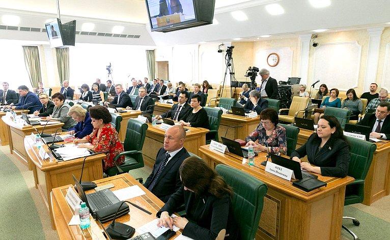 Назаседании Комитета СФ посоциальной политике