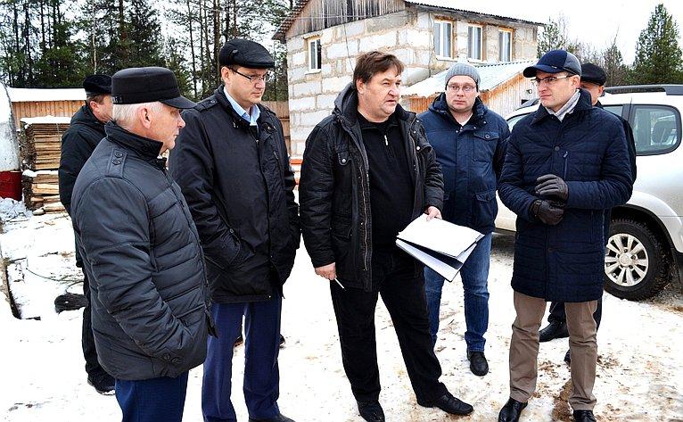 Д. Шатохин посетил Усть-Куломский район Республики Коми