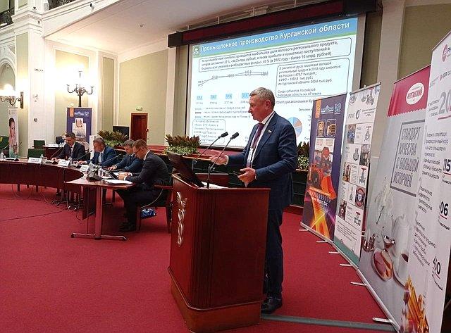 Сергей Муратов принял участие впрезентации Курганской области, которая прошла наплощадке Торгово-промышленной палаты РФ