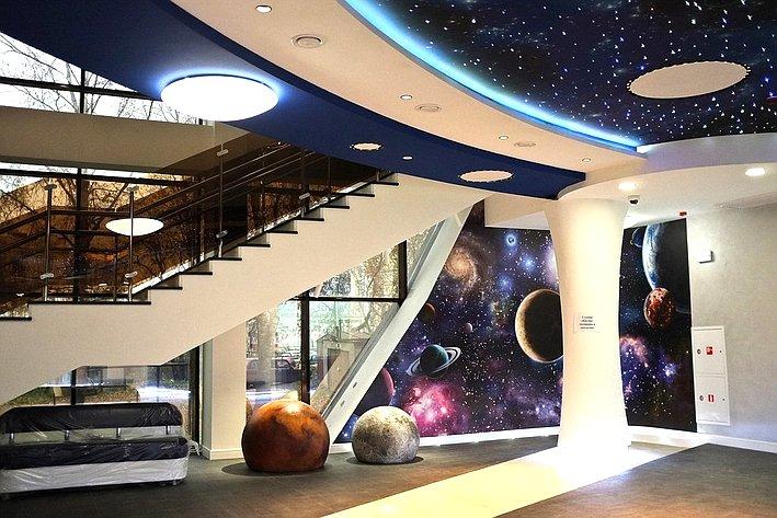 Открытие Детского космического центра вКирове
