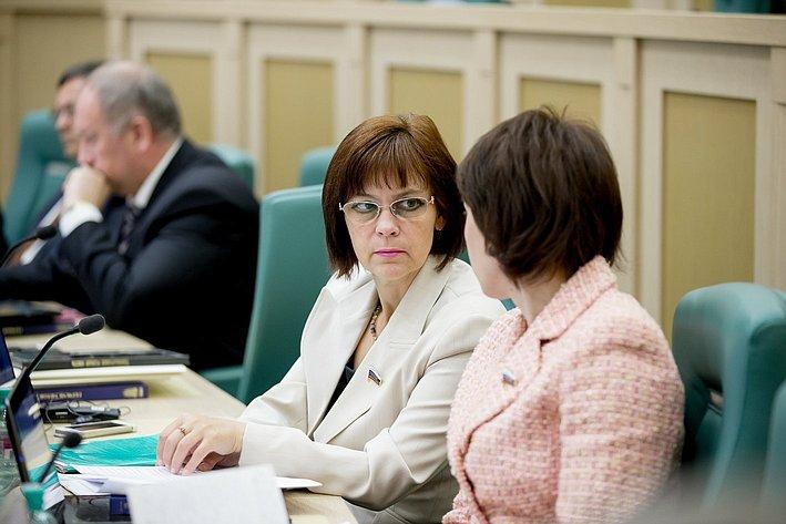 379-е заседание Совета Федерации попова