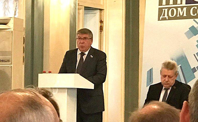 Валерий Рязанский принял участие вмеждународном конгрессе натему «Социальный диалог– вызовы будущего»