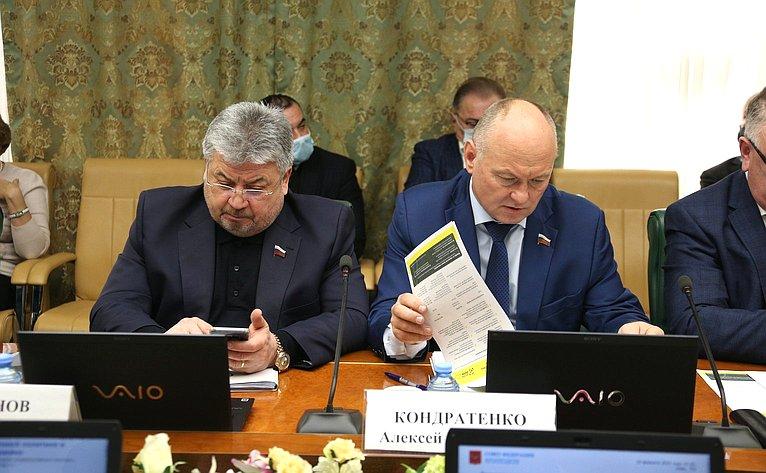 Расширенное заседание Комитета СФ поаграрно-продовольственной политике иприродопользованию врамках Дней Амурской области вСФ