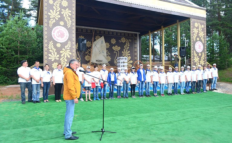 Ю. Воробьев и«Корабелы Прионежья»
