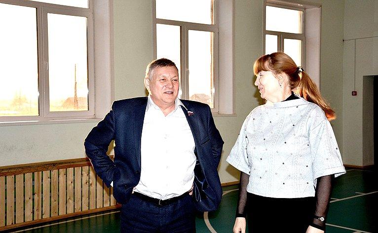 Сергей Михайлов посетил ряд социальных испортивных объектов Забайкальского края