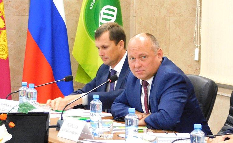 Алексей Кондратенко принял участие взаседании, организованном Министерством сельского хозяйства России