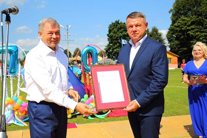 Анатолий Артамонов принял участие впраздничных мероприятиях, посвященных 790-летию города Мосальска