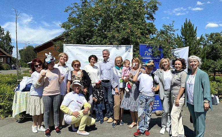 Маргарита Павлова приняла участие впраздничном мероприятии, посвященном Всероссийскому дню семьи