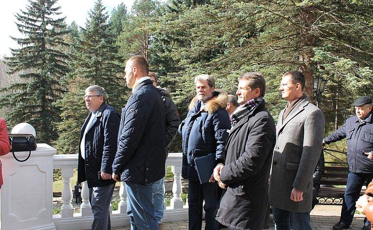 Сенаторы вСтавропольском крае