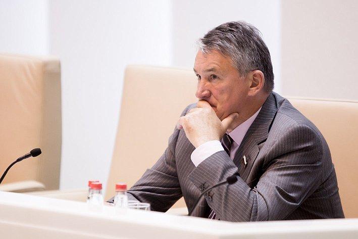 354-е Заседание СФ-21 Ю. Воробьев