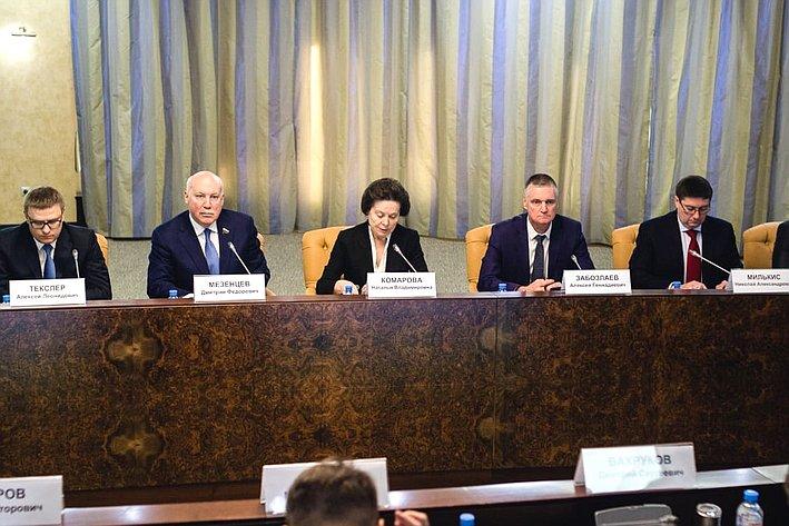 Выездное заседание Комитета СФ поэкономической политике вХанты-Мансийском автономном округе— Югре