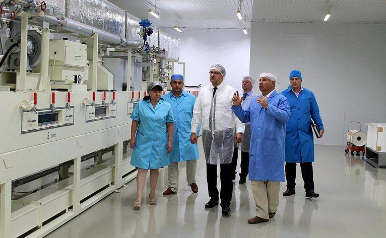 К. Косачев посетил завод попроизводству полупроводниковых приборов вРеспублике Марий Эл