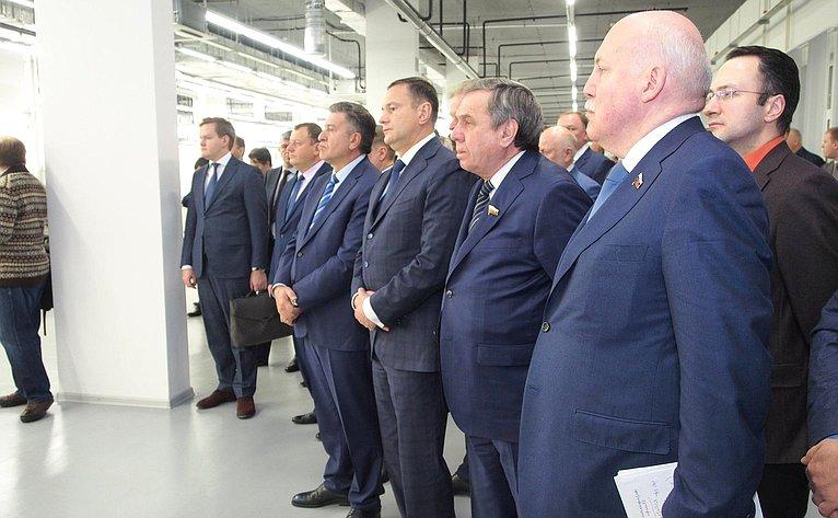 Открытие 2-й очереди предприятия «Элтекс»