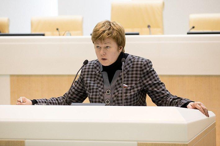 366-е заседание Совета Федерации Тимофеева