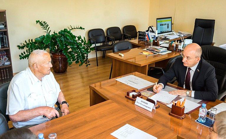 Олег Цепкин обсудил сжителями проблемные вопросы благоустройства территорий