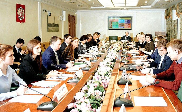 Е. Афанасьева провела встречу смолодежными активистами