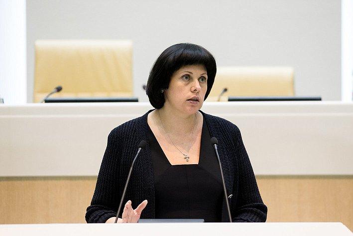 366-е заседание Совета Федерации Афанасьева