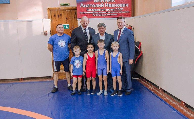 Сергей Рябухин иАлександр Карелин приняли участие вработе конференции «Спортивная борьба– опора региона»