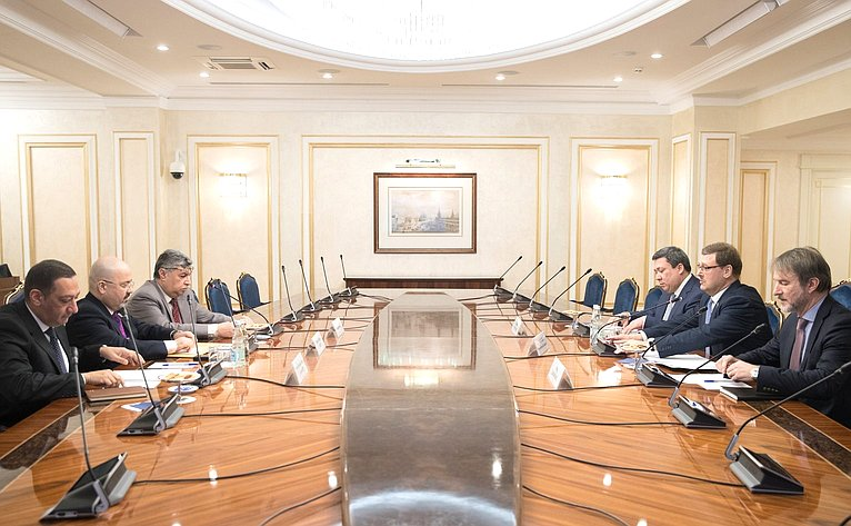 Встреча спослом Ирака вРФ