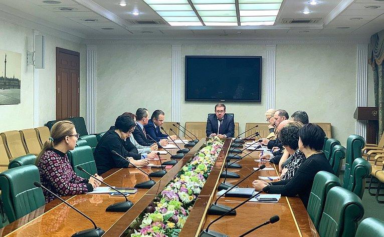 Алексей Майоров провел совещание ссотрудниками аппарата Комитета СФ, посвященное вопросам подготовки квыполнению Плана работы Совета Федерации навесеннюю сессию 2019года