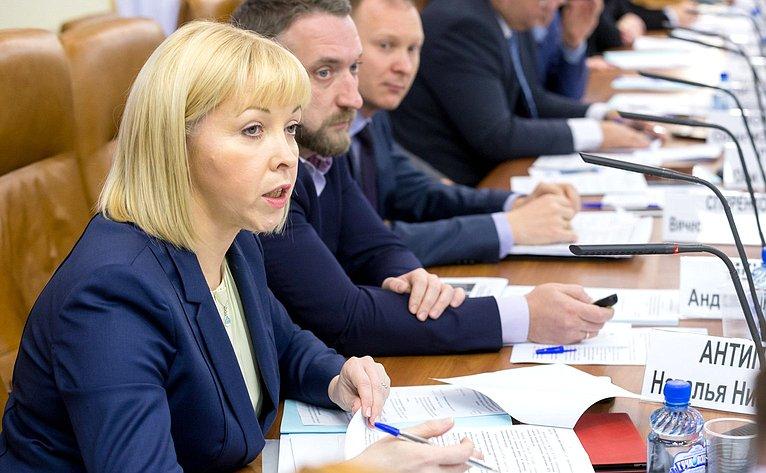 «Круглый стол» натему «Реализация требований федерального законодательства вчасти обеспечения условий для предпринимательской деятельности всфере строительства: лучшие региональные практики»