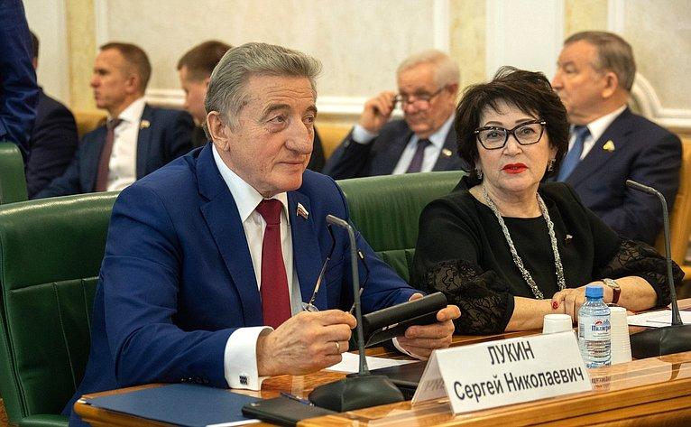 Сергей Лукин иЛюдмила Талабаева