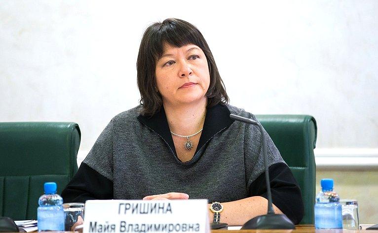 М. Гришина