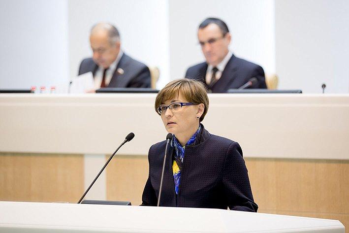 Бокова 380-е заседание Совета Федерации