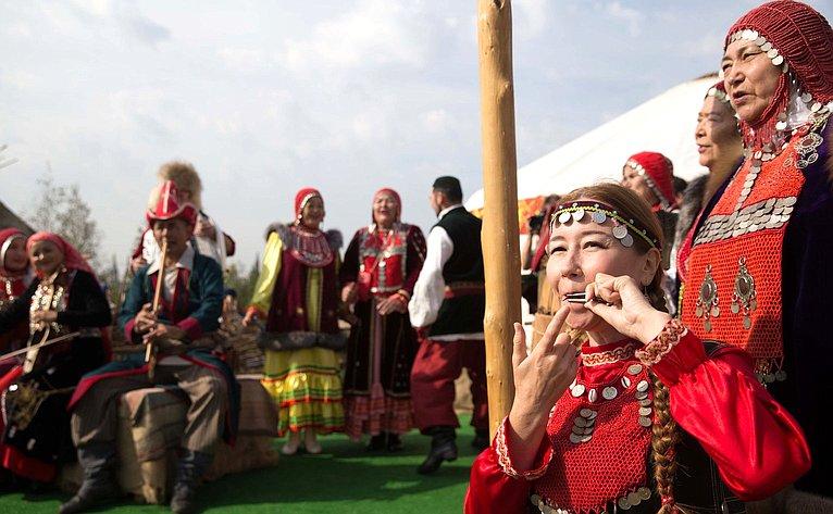 Церемония открытия IV Фестиваля Русского географического общества